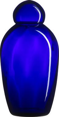 Glas Andandte Blå